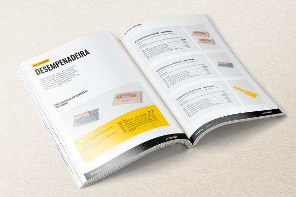 catálogo de produtos personalizado para empresas com mix de produtos grandes e diversificado